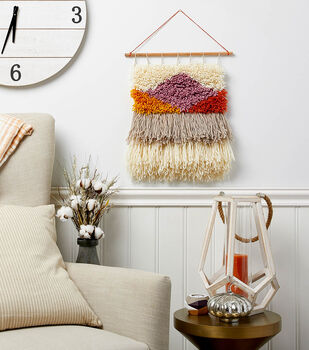 How To Make a Latch Hook Wall Hanging