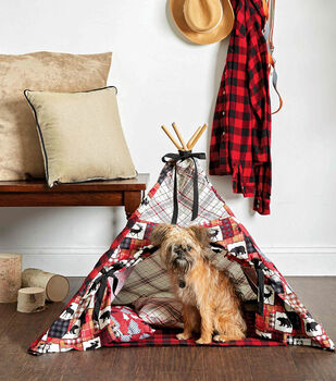 How To Make A Plaid Patchwork Tee Pee