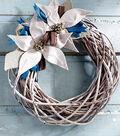 Perfect Poinsettia Wreath