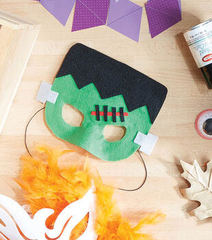 How To Make A Frankenstein Monster Mask