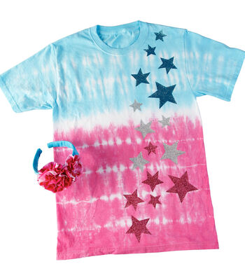 How To Make an Everything's Rosy T-shirt and Headband