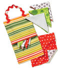 Hankie Holder with Child-Sized Reversible Hankies