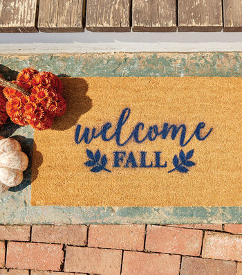 How To Make A Stenciled Door Mat