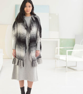 How To Crochet A Graphic Fringed Poncho