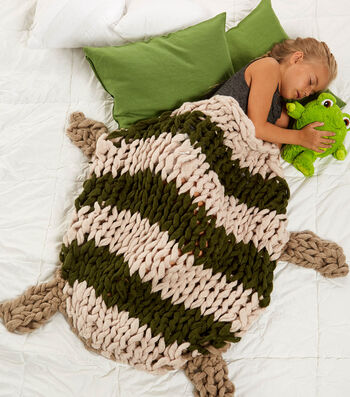 How To Make A Arm Knit Turtle