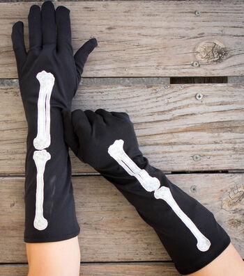 How To Make Dress Black Halloween Gloves