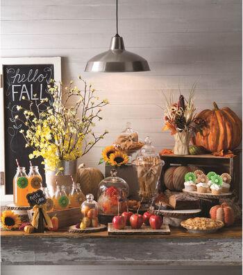 Fall Buffet Table