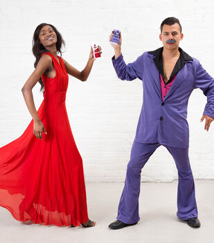 How To Make Girl and Guy Dancer Emoji Costumes With Dye