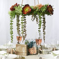 How To Make a Greenery and Succulents Hanging Wreath