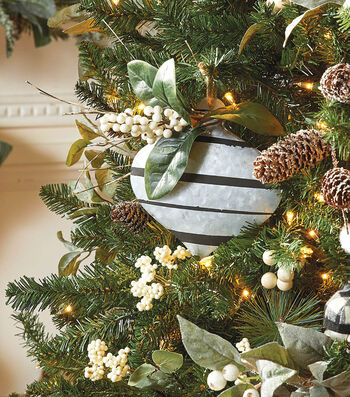 How To Make A Galvanized Metal Striped Ornament