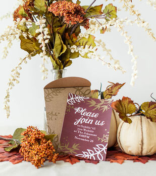 How To Make A Thanksgiving Invitation