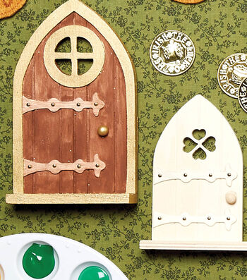 How To Make a Leprechan Door