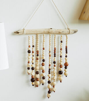 How To Make a Beaded Natural Wind Chime