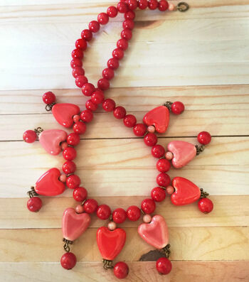 How to make a All Hearts Necklace