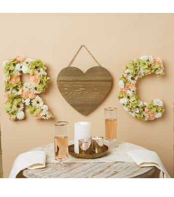 How To Make a Heart Wedding Piece