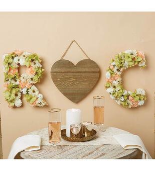 How To Make a Heart Wedding Piece