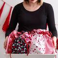 How To Make a Drawstring Treat Bag