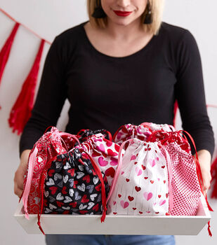 How To Make a Drawstring Treat Bag