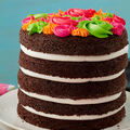 How To Make A Bright and Bold Rosette Cake