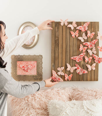 How To Make A Butterfly Wall Décor