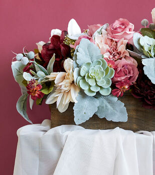 How To Make a Fall Floral Table Arrangement