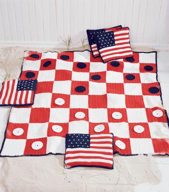 Checkerboard Picnic Blanket