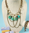 Trendy Chunky Chain Necklace and Bracelet