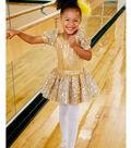 Gold Dance Costume and Headband