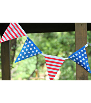 How To Make Patriotic Bunting