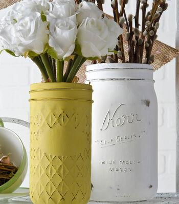 Idea Market Ball Jar Chalk Vases