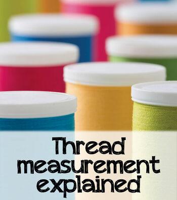 Thread Measurement Explained