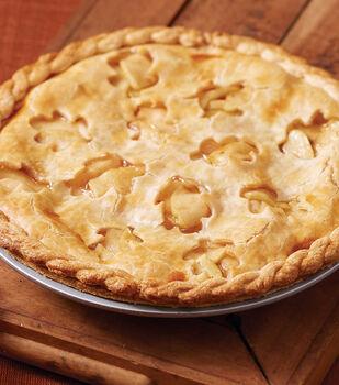 Fancy Buttery Crust Apple Pie