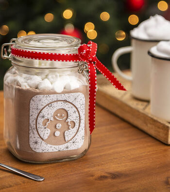 How To Make a Gingerbread Mix Jar