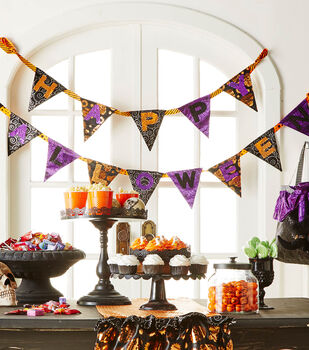 How To  Make A Halloween Make it your Own Banner