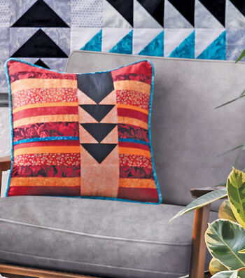 How To Make A Flying Geese Throw Pillow
