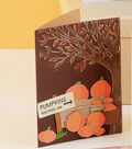 Embossed Fall Tree Card