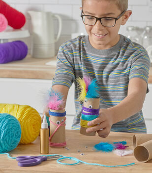 How To Make Paper Tube Monsters