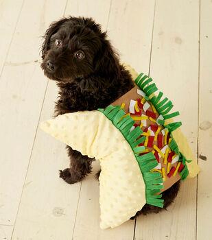 How To  Make A Taco Pet Costume