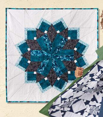 How To Make A Medallion Quilted Wall Hanging