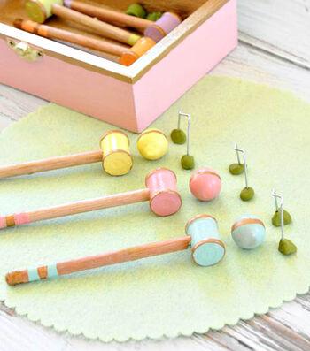 Mini Croquet Set