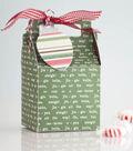 Christmas Gable Gift Box and Tag