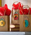Seasonal Leather Gift Tags