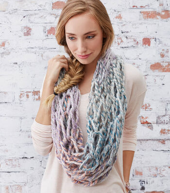 How To Make A Quick And Easy Arm-Knit Cowl
