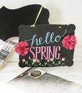Hello  Spring Chalkboard Sign