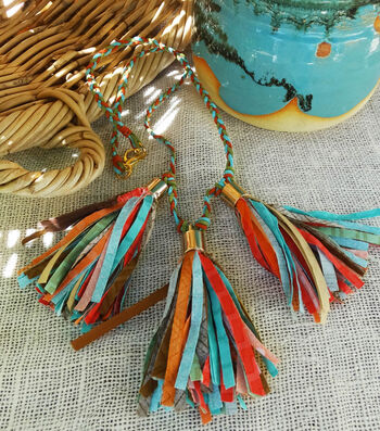 How To Make A Bohemian Tassel Necklace