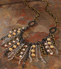Mixed Chain Drop Necklace