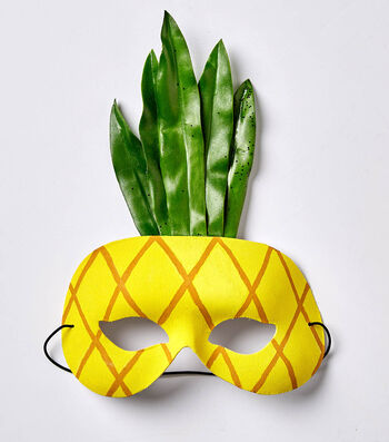 How To Make A Pineapple Mask