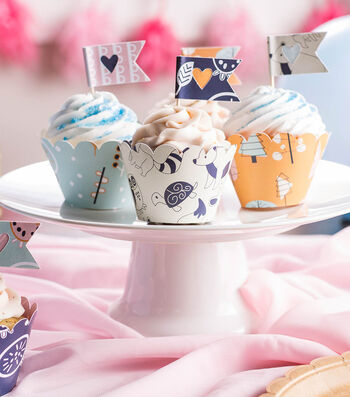 How To Make Cupcake Toppers and Wrappers