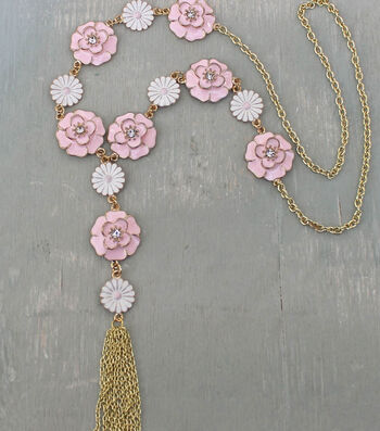 How To Make A Flower Child Necklace