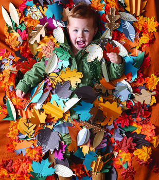 How To Make Fall Paper Leaves